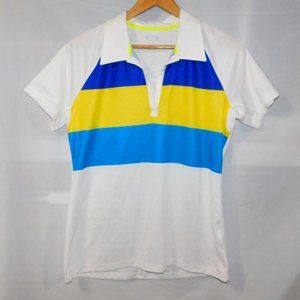Oakley Womens L Class Act Golf Polo Shirt